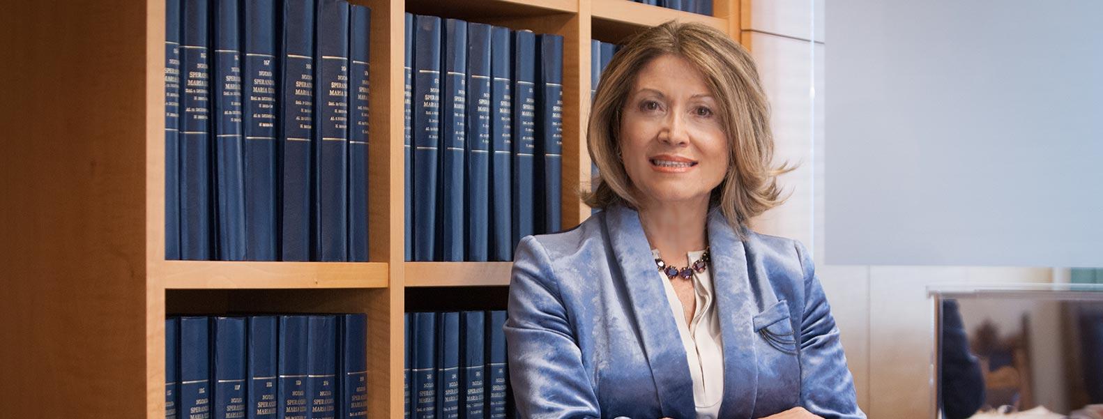 Dottoressa Maria Luisa Sperandeo