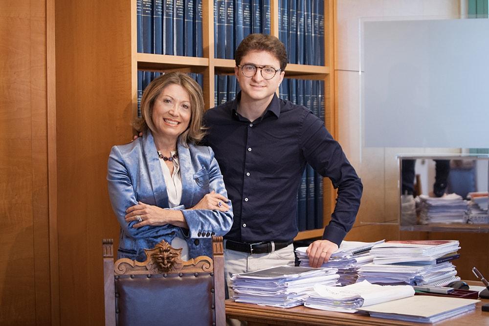 Maria Luisa Sperandeo e Enrico Paludet